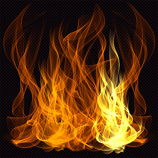 Beautiful Fire Flame Background - Free PNG Images, Digital Download