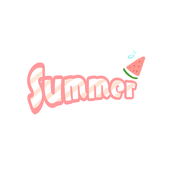 Summer Clipart Watermelon - Free PNG Images, Transparent Image Instant Download