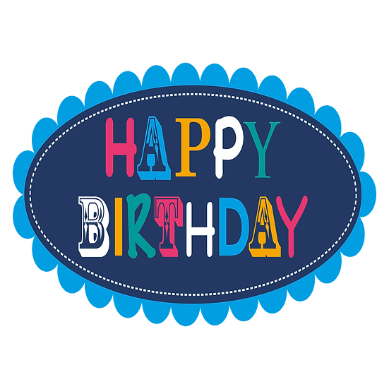 Happy Birthday Amazing Greeting Card - PNG Transparent Image - Digital Download