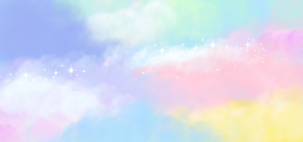Rainbow Watercolor Magical Background - Free PNG Images, Digital Download