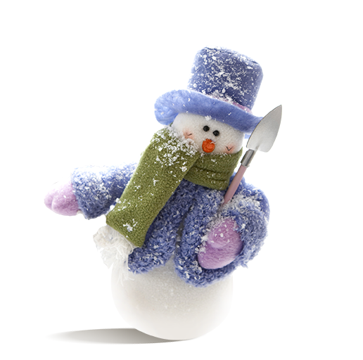 Christmas Snowman with Shovel Free PNG Images - Free Digital Image Download