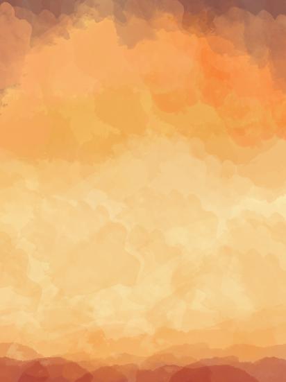 Orange Watercolor Background - Free PNG Images, Digital Download