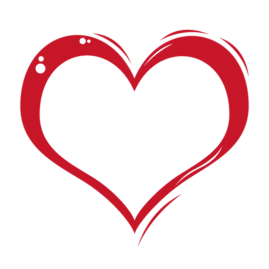 Hand Draw Heart - Free PNG Images, Transparent Image Instant Download