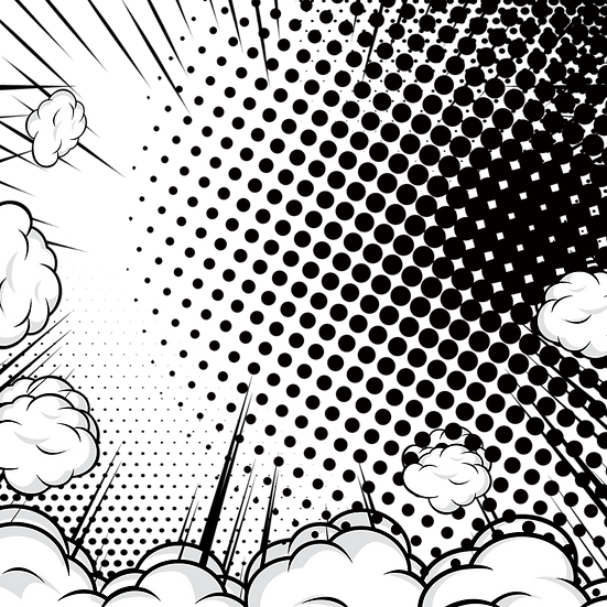 Cartoon Background with Clouds - Free PNG Transparent Image, Instant Download