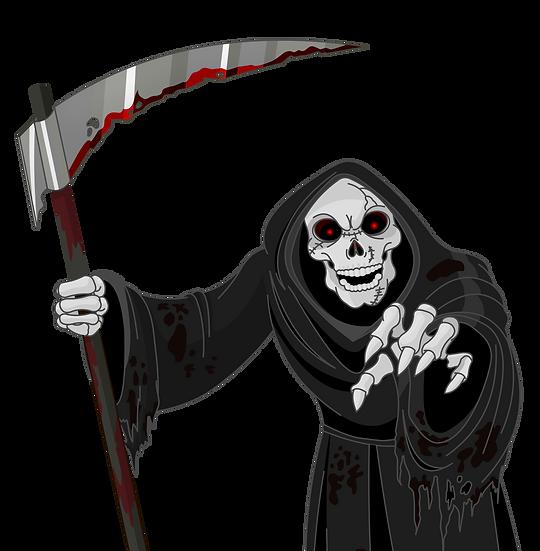 Halloween Death Free PNG Images - Free Digital Image Download