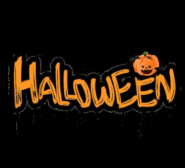 Halloween Inscription Free PNG Images - Free Digital Image Download