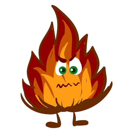 Angry Fire Illustration - Free PNG Images, Transparent Image Digital Download