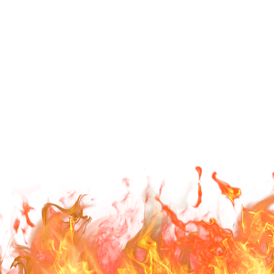 Red Burning Fire Flame - Free PNG Images, Transparent Image Digital Download