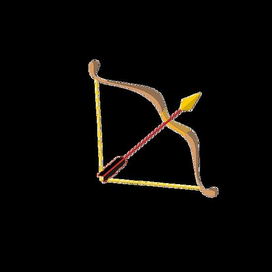 Bow and Arrow Illustration - Free PNG Images, Transparent Image Digital Download