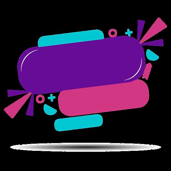Colorful Banner Design - Free PNG Images, Transparent Image Instant Download