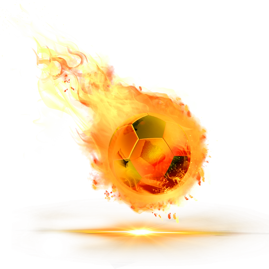 Burning Sports Ball - Free PNG Fire Images, Transparent Image Digital Download