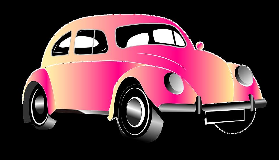 Gradient Car Clipart - Free PNG Images, Transparent Image Instant Download