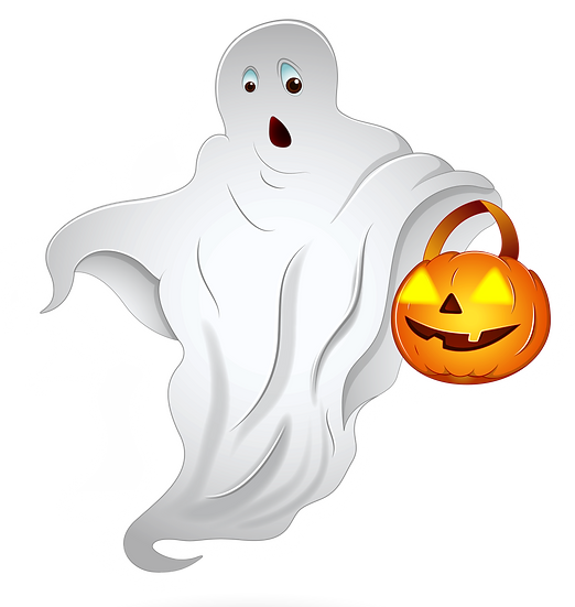 Helloween Ghost Free PNG Images - Free Digital Image Download