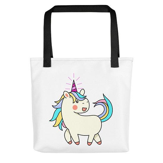 Colorful Unicorn Tote bag