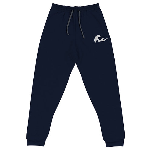 Pacific Waves Embroidered Unisex Joggers