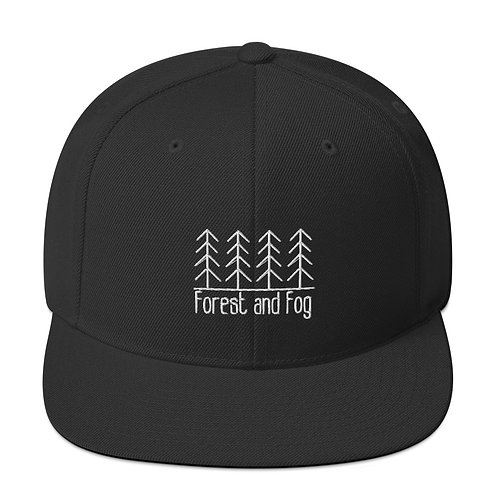 Forest and Fog Snapback Hat