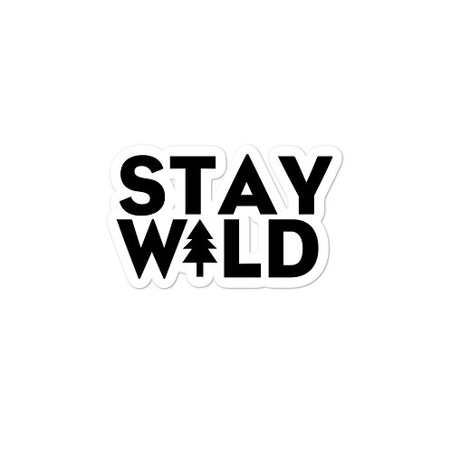 Stay W+LD Sticker