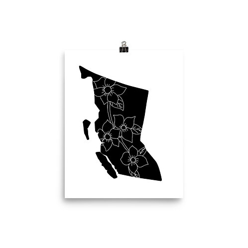 BC Blooms Poster 8x10