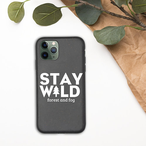 Stay WILD Biodegradable Phone Case