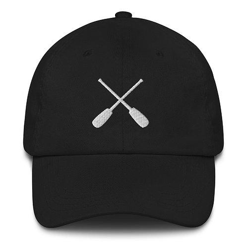 Crossed Paddles Dad hat