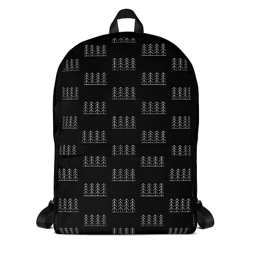 Forest and Fog Treeline Simplicity Backpack