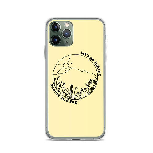 Let's Go Hiking Wildflower Phone Case