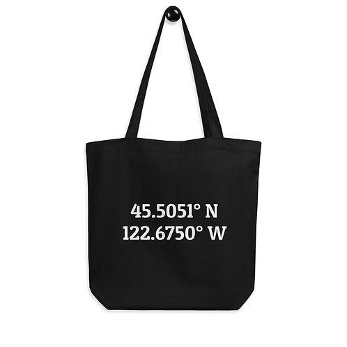 Coordinates: Portland Eco Tote Bag