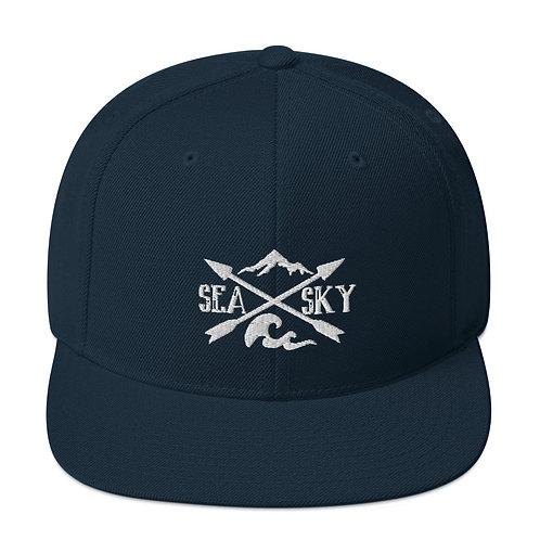 Sea to Sky Snapback Hat