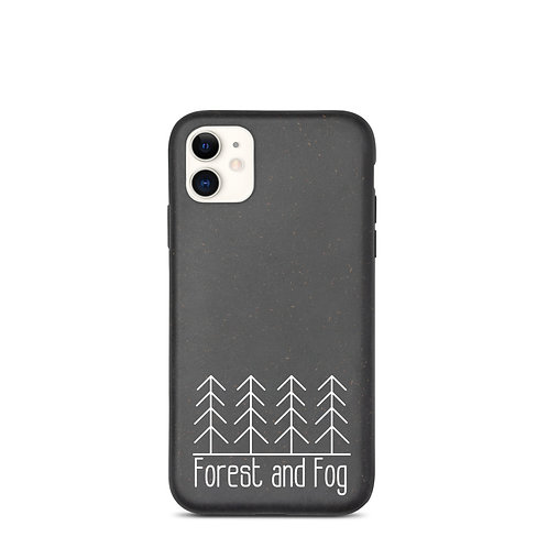 Forest and Fog Biodegradable Phone Case