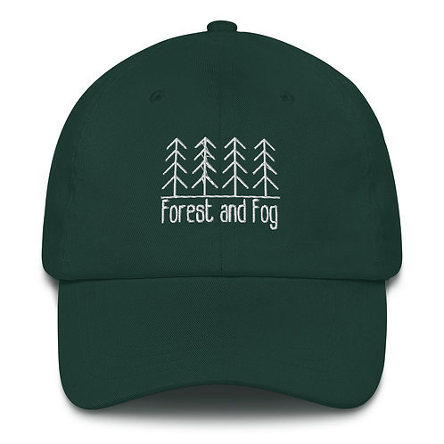 Forest and Fog Dad hat