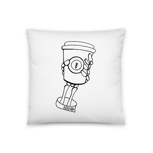 Skeleton Roast Pillow