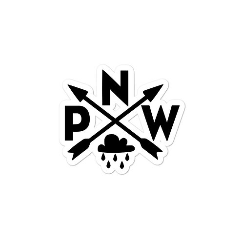 PNW Rainy Day Sticker