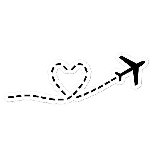 Love Adventure Sticker