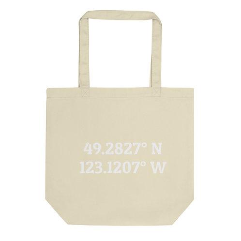 Coordinates: Vancouver Eco Tote Bag