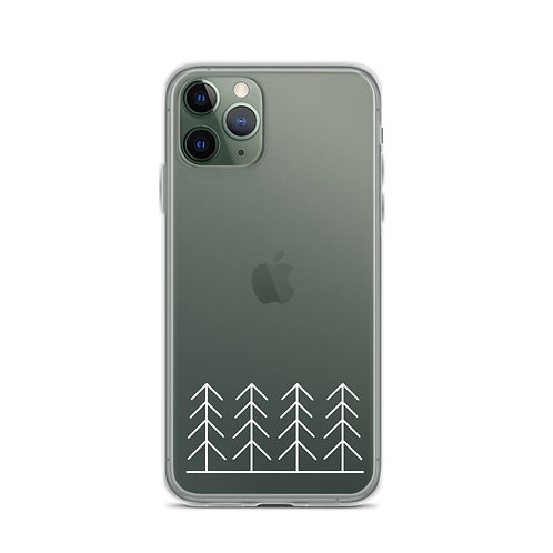 Forest and Fog Treeline Simplicity Phone Case