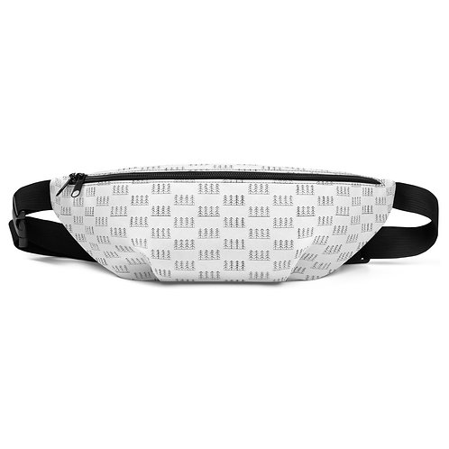 Forest and Fog Treeline All Over Print Fanny Pack