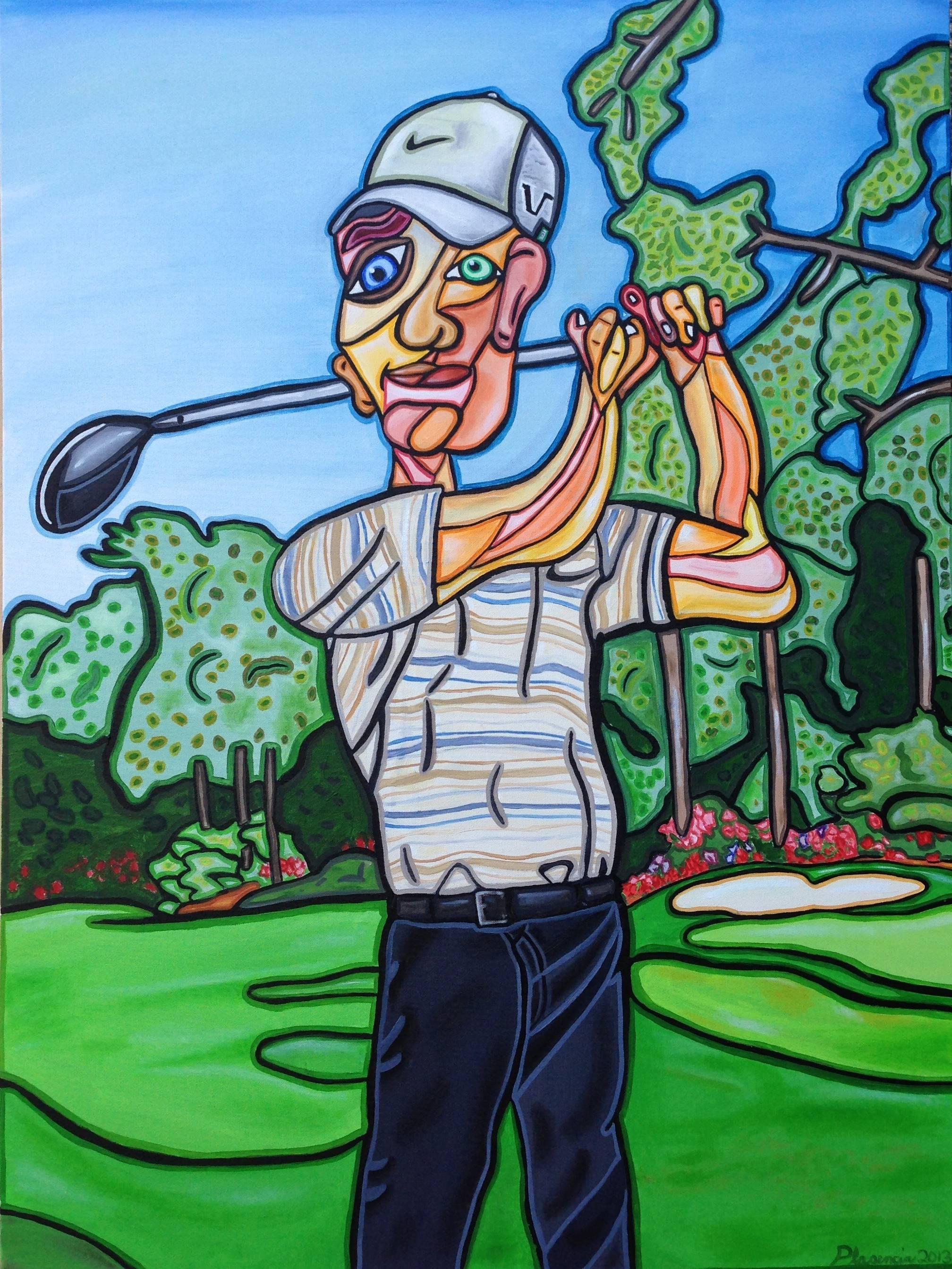 Golfing in Augusta