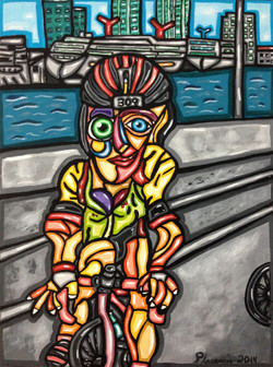 Cycling on the Causeway