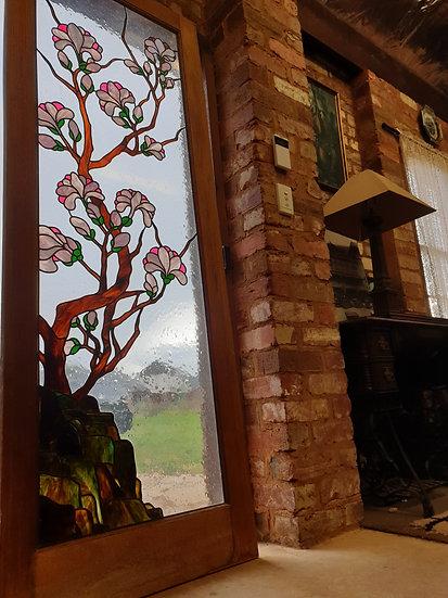 Oriental Blossom Door