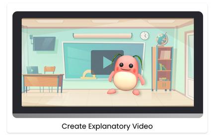 Create explanatory video