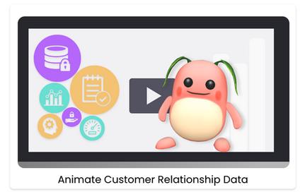 Animate Customer Relationship Data
