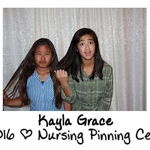 Kayla Grace's Pinning Celebration