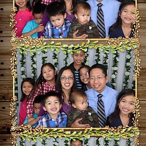 Julian & Shasha's SD Reception Photo Booth