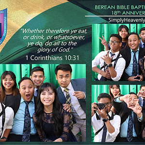 Berean Bible Baptist Church 18th Anniversary