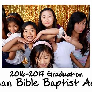 Berean Bible Baptist Academy 2016-2017 Graduation Photo Booth