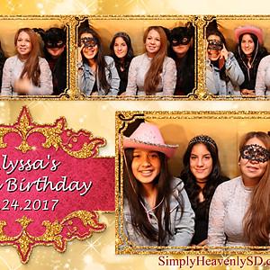 Alyssa's 15th Birthday Photo Booth