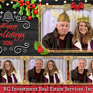 RG Investment Real Estate Services, Inc. Hornblower Holiday Party