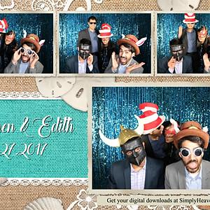 Stephen & Edith's Wedding Photo Booth