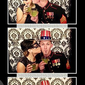 241st Marine Corps Birthday Ball- Enclosed Booth Set-up
