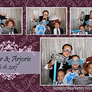 Jester & Arjorie's Wedding Photo Booth